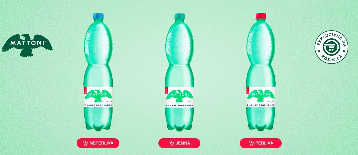 Mattoni představilo první recyklovatelnou PET lahev v Česku. Ze starých budou vznikat nové