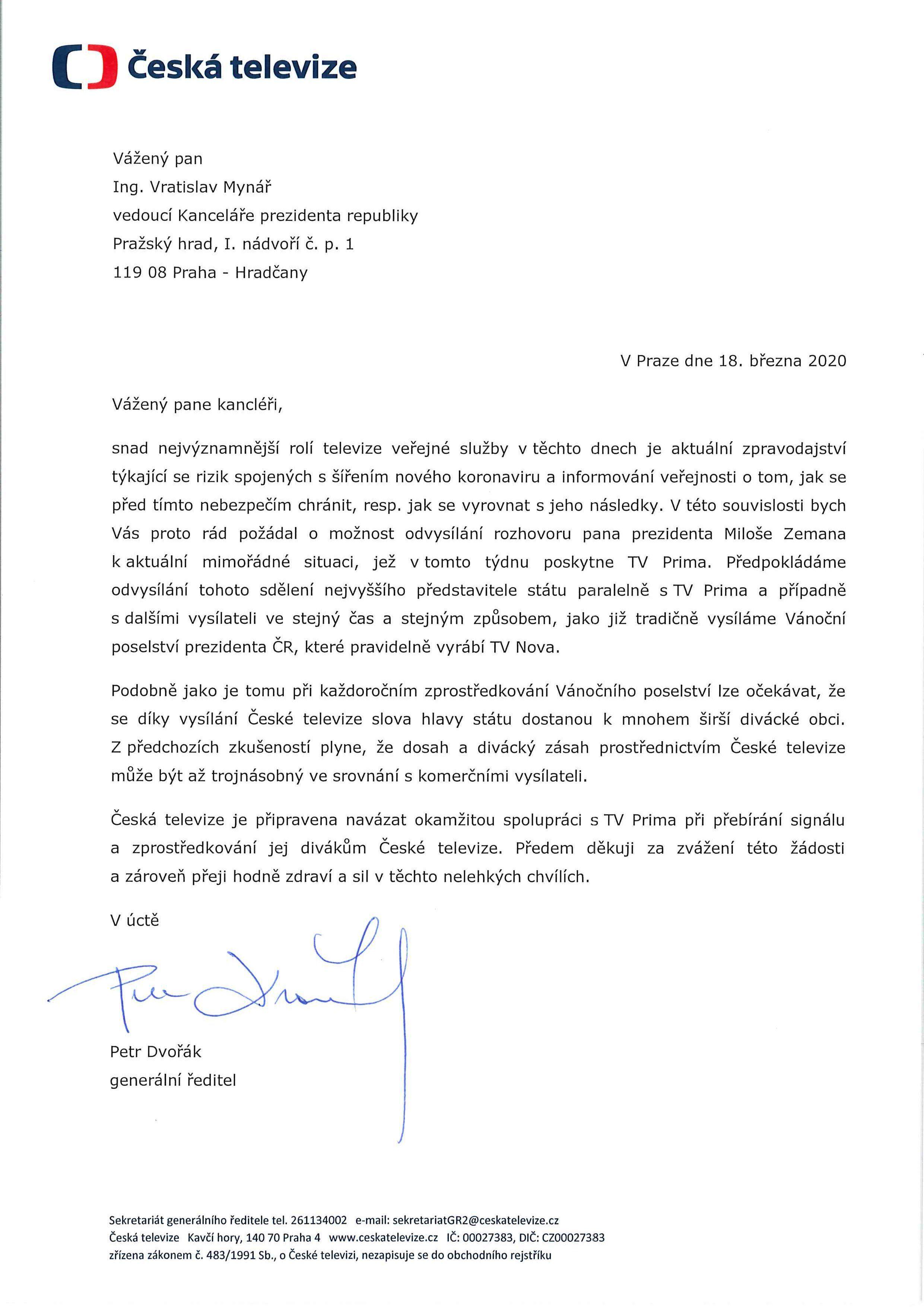 Prezident Miloš Zeman konečně promluví k národu