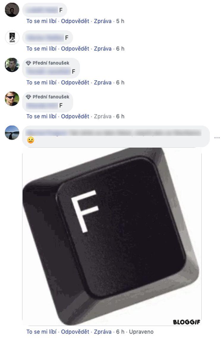 Lidé na sociálních sítích píší F k úmrtí Karla Gotta. Uctívají tak jeho památku