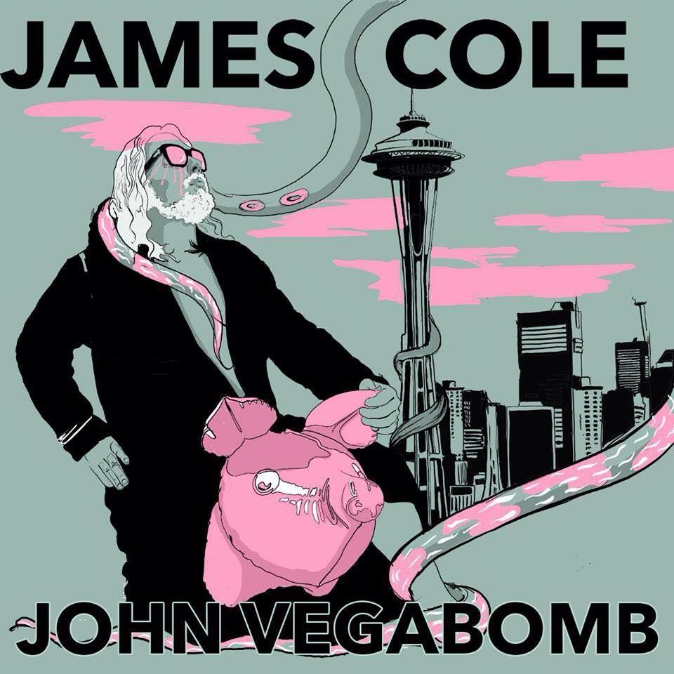 James Cole zveřejnil svůj nikdy nevydaný projekt John Vegabomb z roku 2011