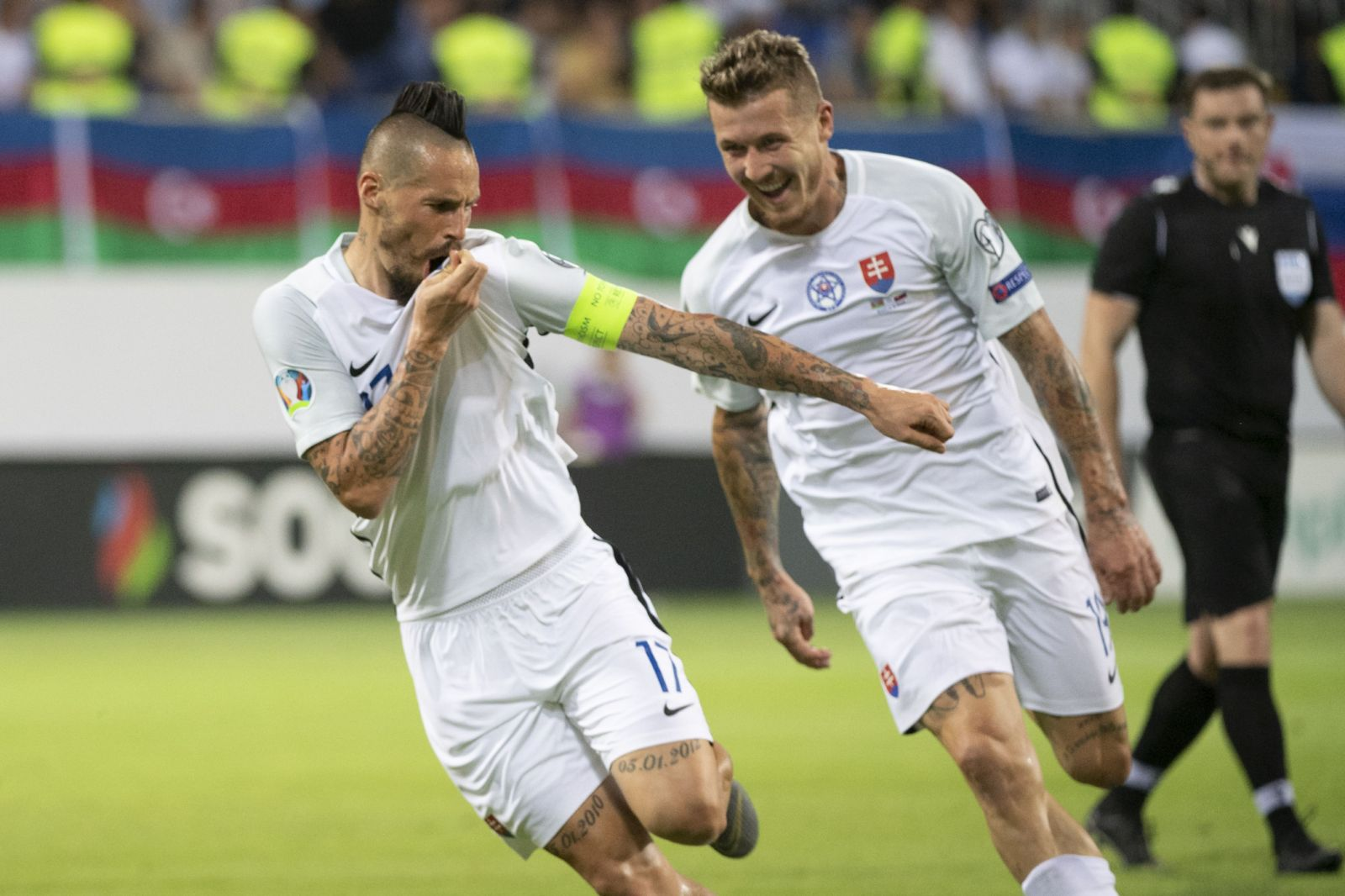 e143c35abf743 Slovensko víťazí v kvalifikácií nad Azerbajdžanom a udržuje si šance na  postup na majstrovstvá Európy 2020