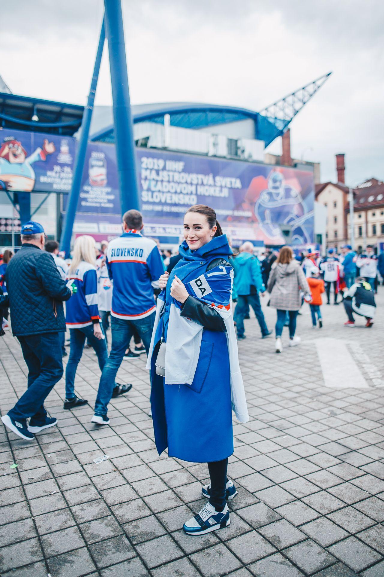 Toto sú fanúšičky slovenskej hokejovej reprezentácie