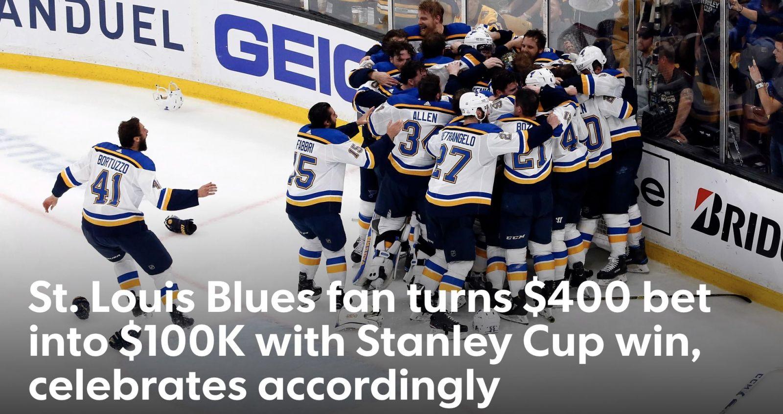 V januári boli najhorším tímom ligy, dnes oslavujú prvý Stanley Cup v histórii klubu. St. Louis Blues porazili Chárov Boston