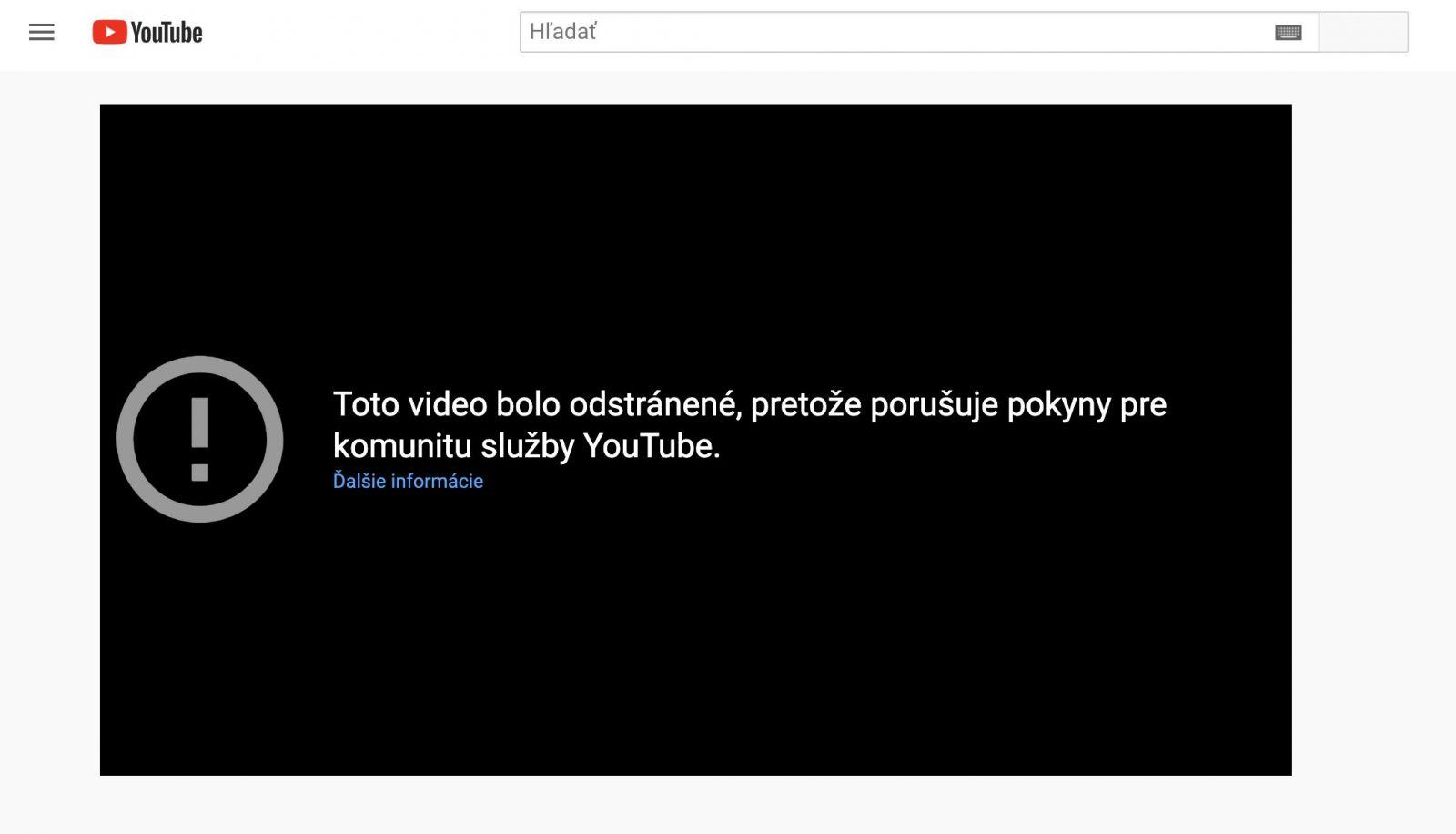 Kotlebovi po Facebooku aj YouTube zmazal konšpiračné video, kde zľahčuje koronavírus. Zavádza číslami a klame o vdychovaní CO2
