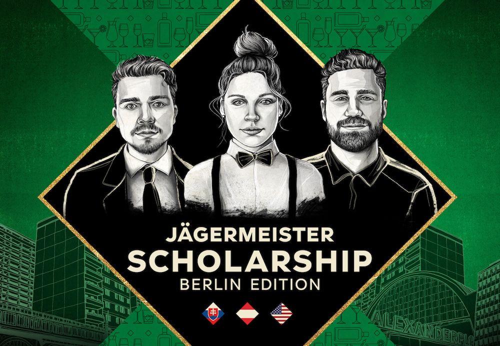 Získaj barmanské štipendium od Jägermeister. Môžeš pracovať v slávnych baroch v hlavnom meste