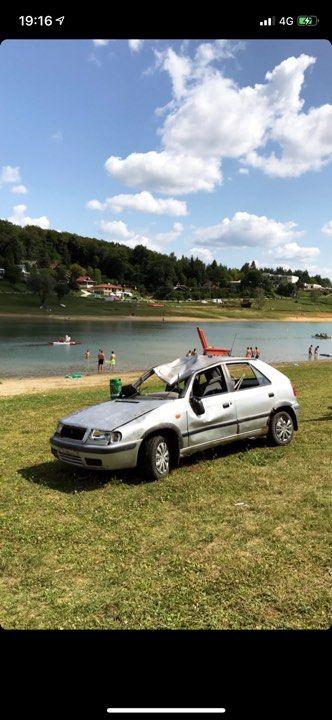 Opitý východniar ohrozoval stanové mestečko na Domaši, Felíciu mu odkotúľali až ku vode