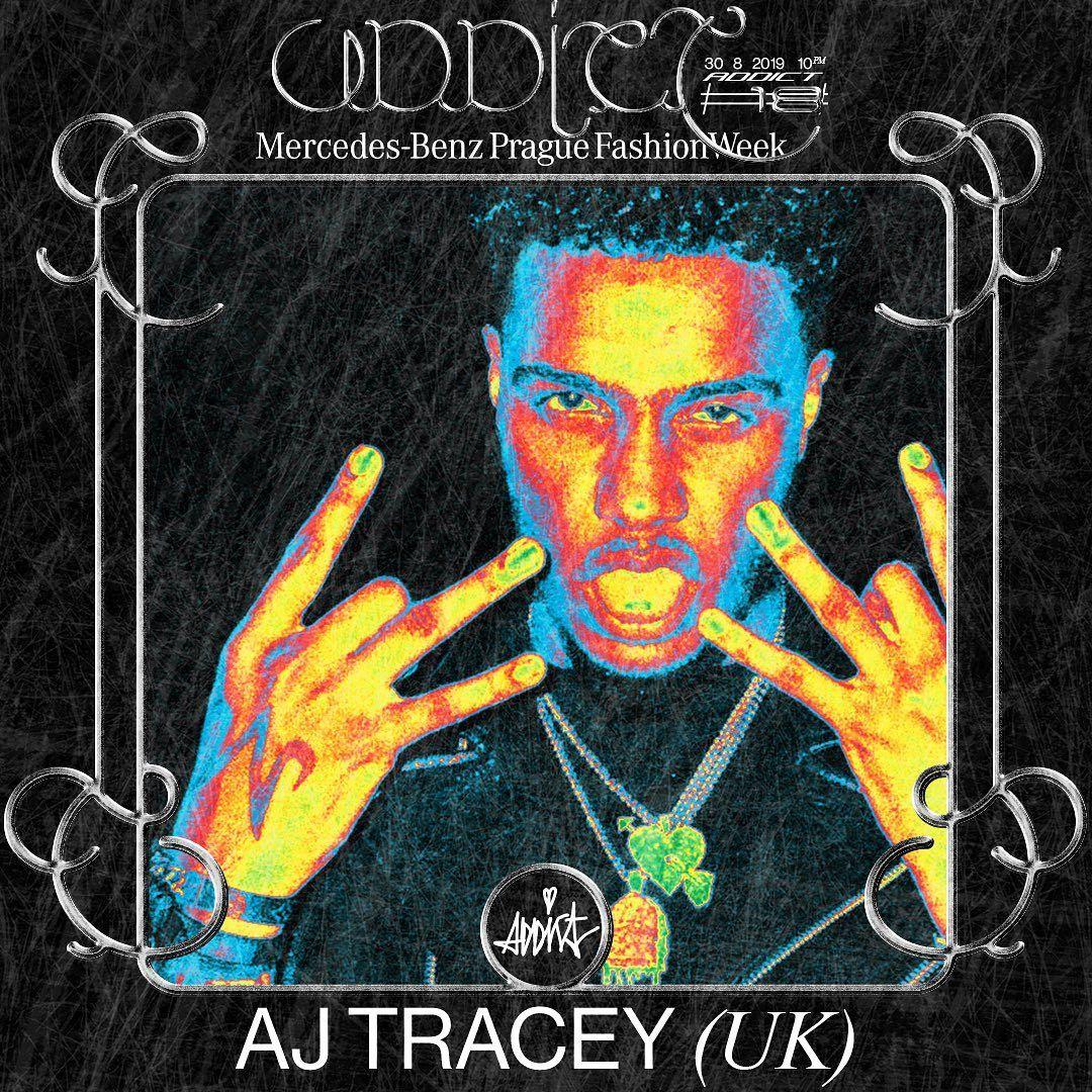 AJ Tracey na Addicte #18: Stál po boku Drakea aj Skeptu, teraz rozbije Prahu