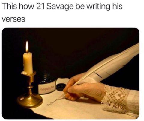 21 Savage je na smiech celému internetu