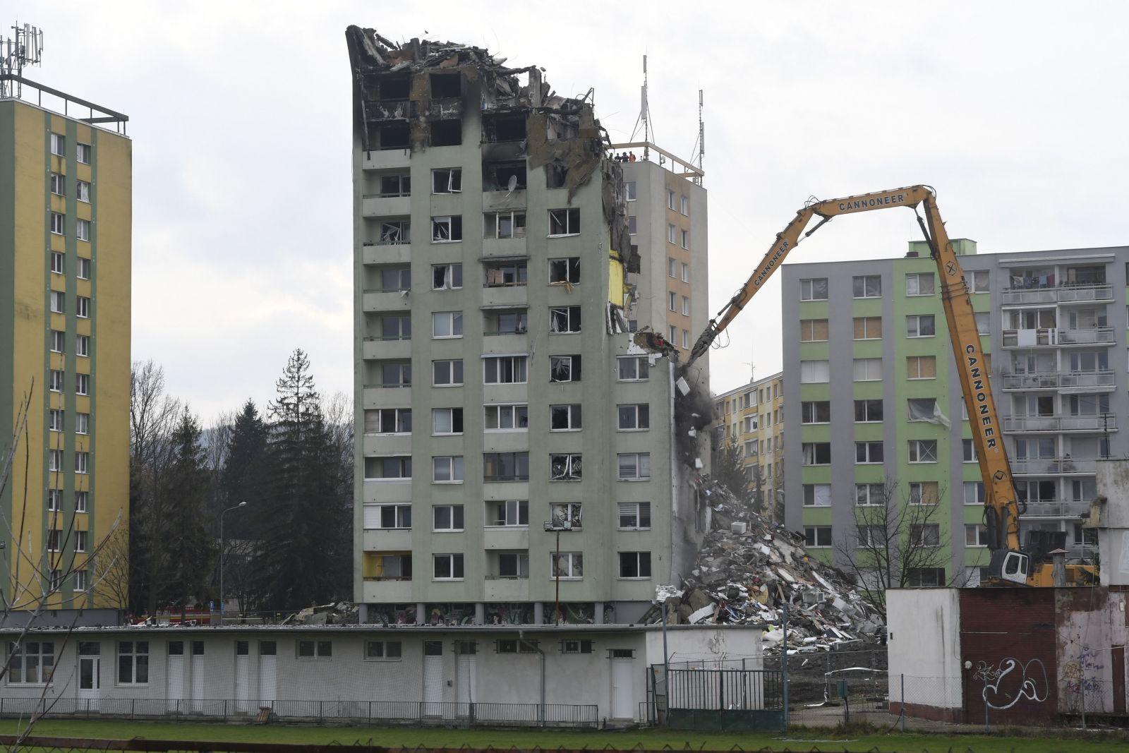 Prešovkskú bytovku zničenú výbuchom definitívne zbúrajú celú