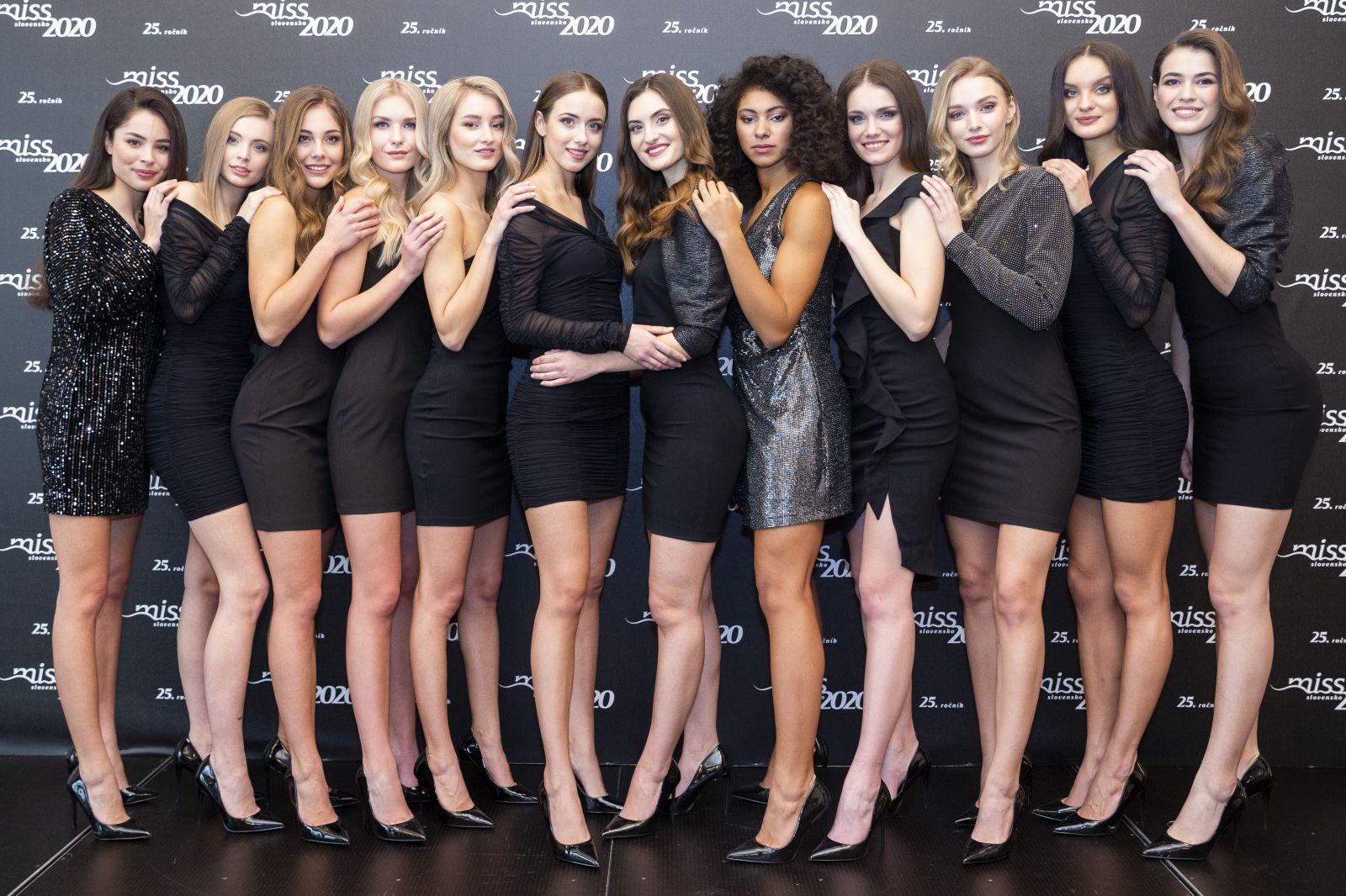 Toto je 12 najkrajších finalistiek Miss Slovensko