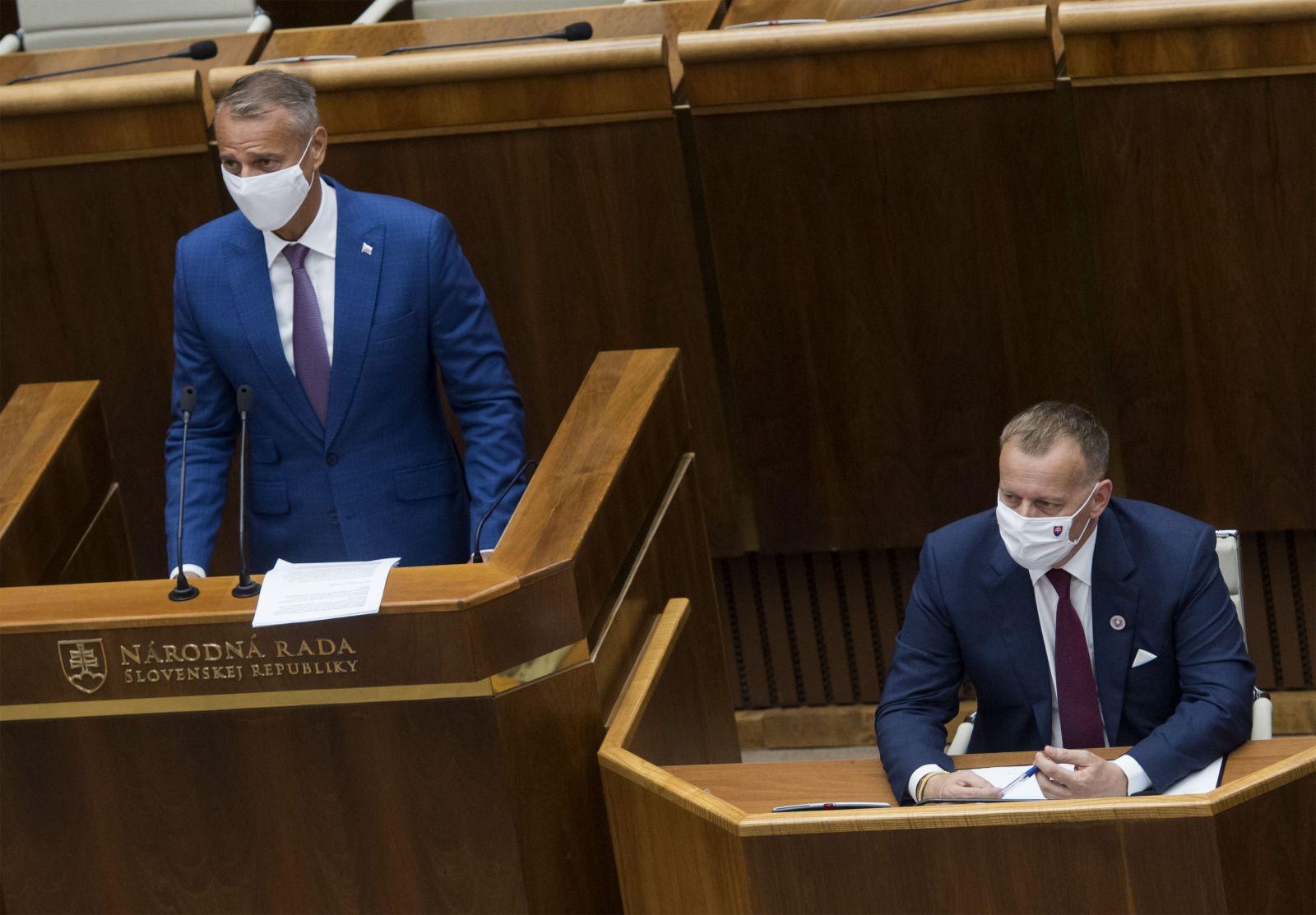 Borisa Kollára neodvolali z postu predsedu Národnej rady