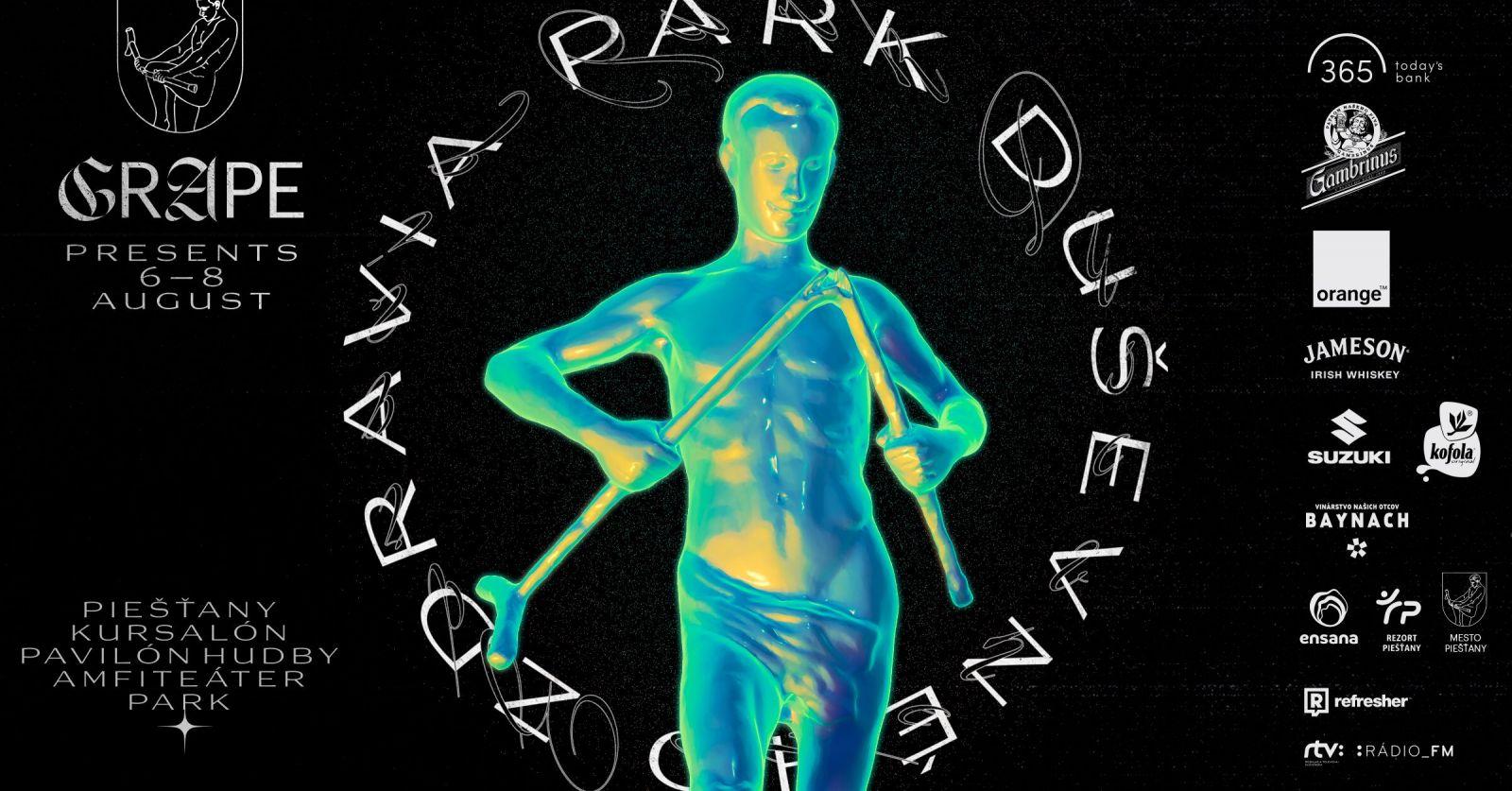 Grape festival sa v auguste premiestni z letiska do mestského parku, čaká nás multižánrová nádielka
