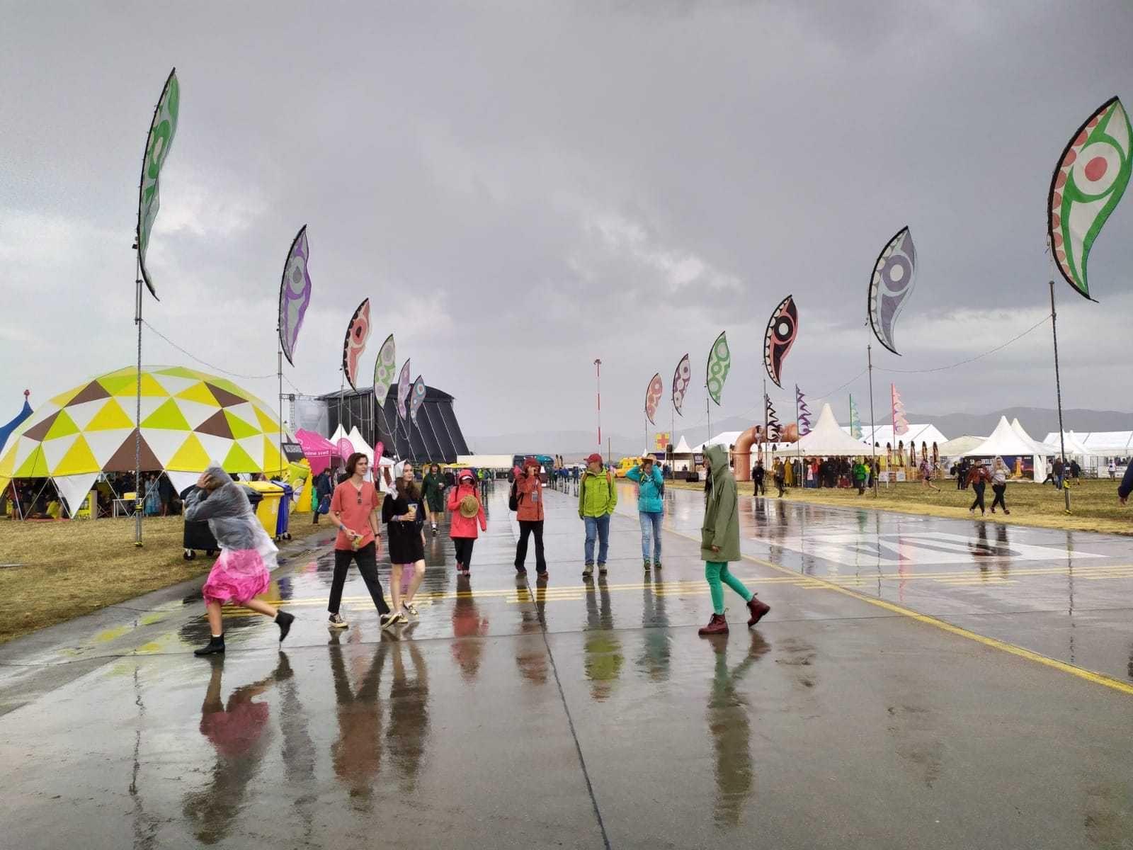 Na Pohode hrozí búrka s krupobitím. Organizátori žiadajú návštevníkov, aby sa v prípade zhoršenia riadili evakuačným plánom