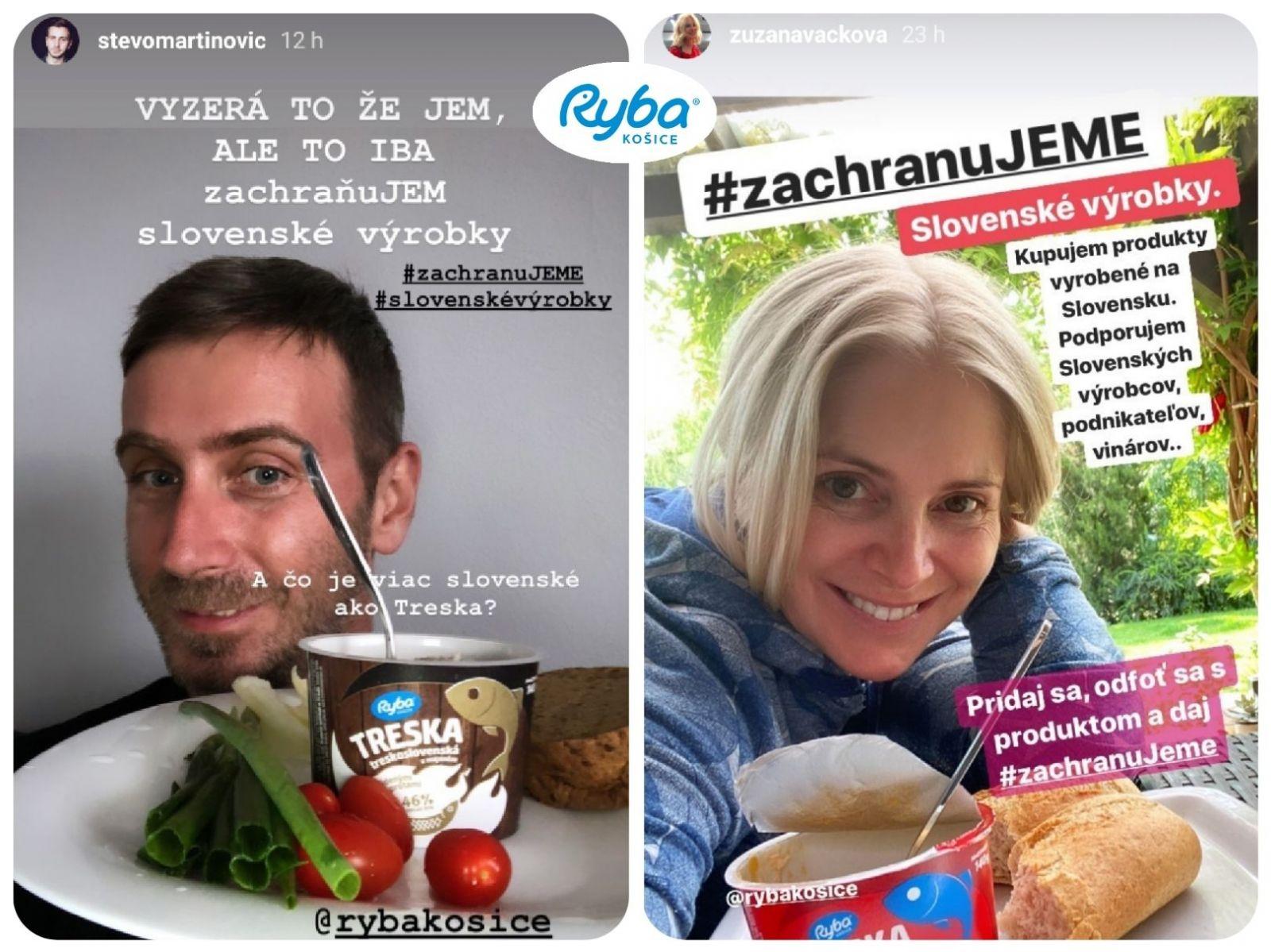 Ryba Košice spája slovenských výrobcov s iniciatívou #zachranuJEME