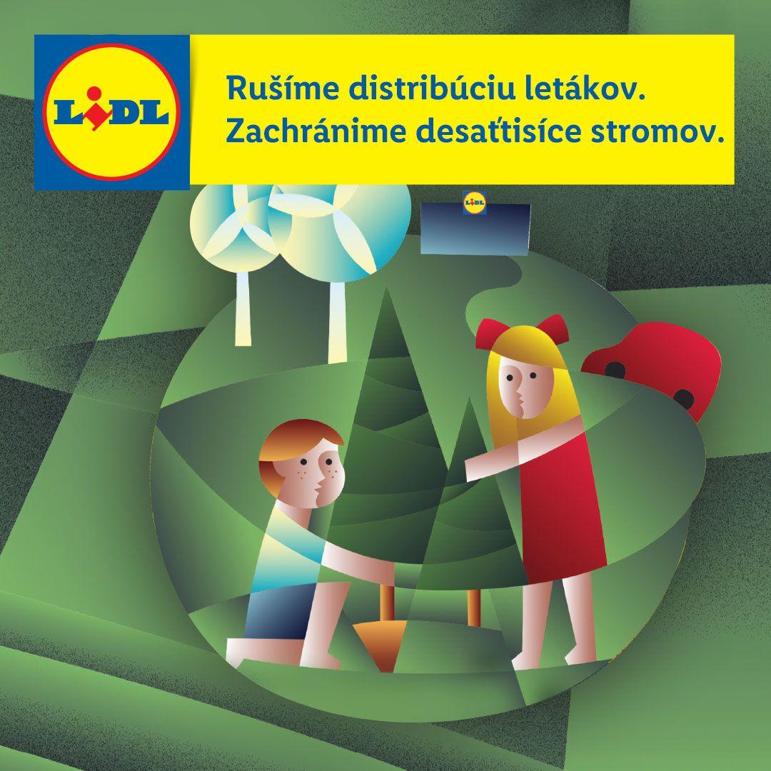 Lidl na Slovensku zrušil distribúciu papierových týždňových letákov, ušetrí viac ako 4000 ton papiera ročne