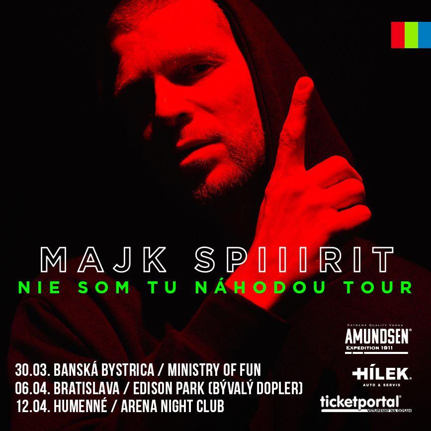 Posledné veľké turné Majka Spirita? Sleduj zastávky, priprav sa na krsty v Bratislave aj na východe