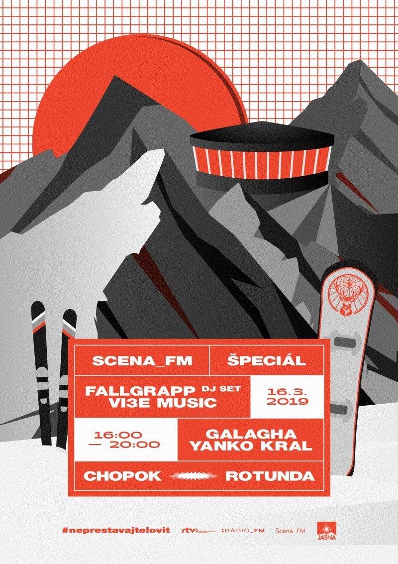 Klubová akcia vo výške 2000 metrov nad morom. Rotunda na Chopku bude hostiť udalosť Scena FM Špeciál