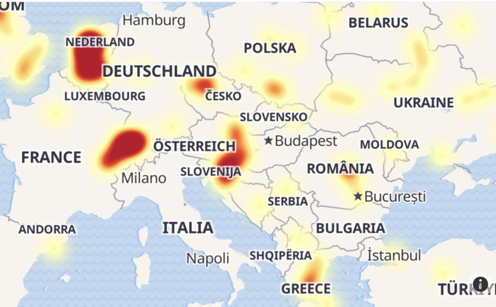 Instagram má celosvetový výpadok, týka sa aj Slovenska