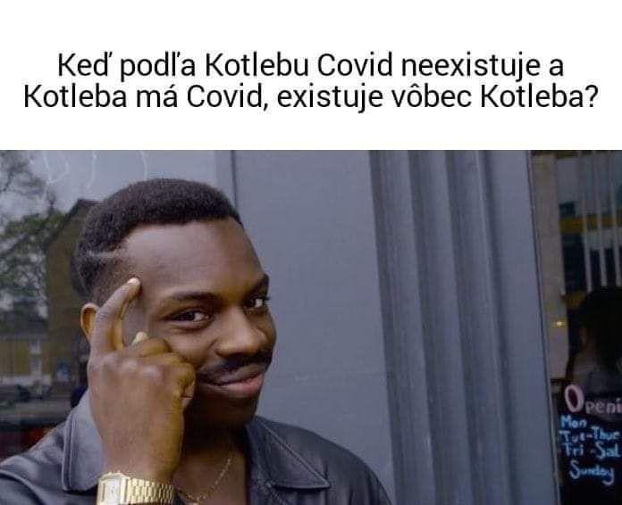 Marian Kotleba sa nenakazil koronavírusom, ale koronavírus Kotlebom. Satirické meme stránky sa bavia na extrémistickom šéfovi ĽSNS