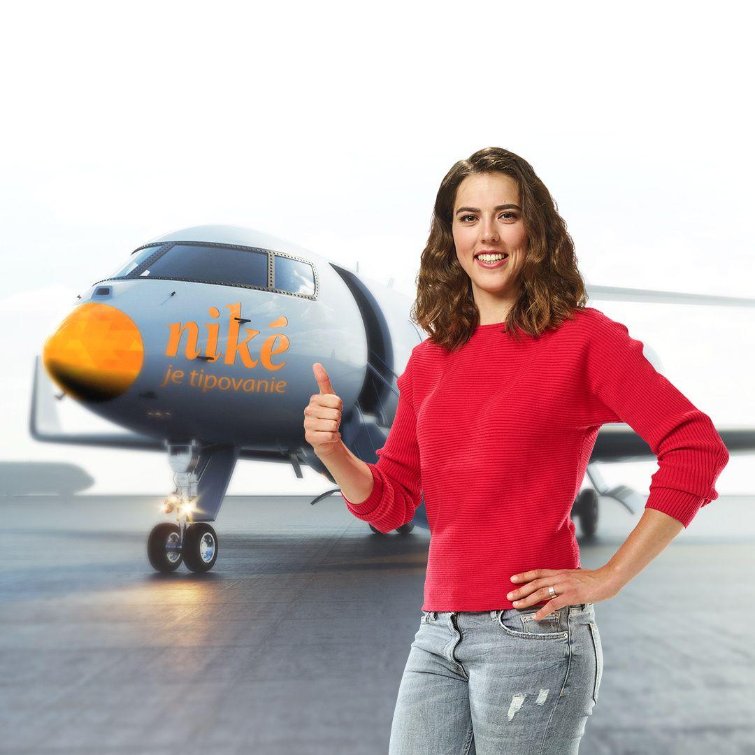 Niké reaguje na aktuálnu situáciu: Petra Vlhová poletí na preteky súkromným lietadlom