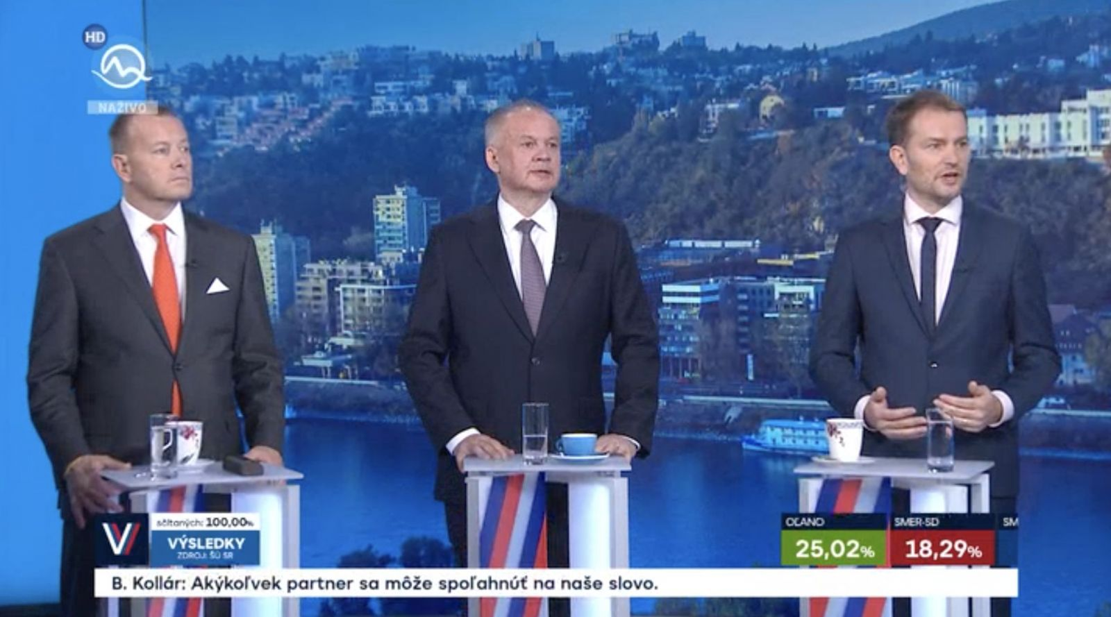 Sledujeme NAŽIVO Parlamentné voľby: Absolútne prehrali voľby PS/Spolu a pán exprezident, zaútočil Pellegrini na Kisku