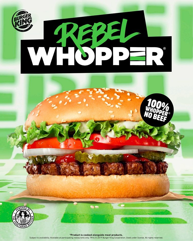 Burger King spustil predaj prvých rastlinných burgrov, nie sú však vhodné pre vegánov
