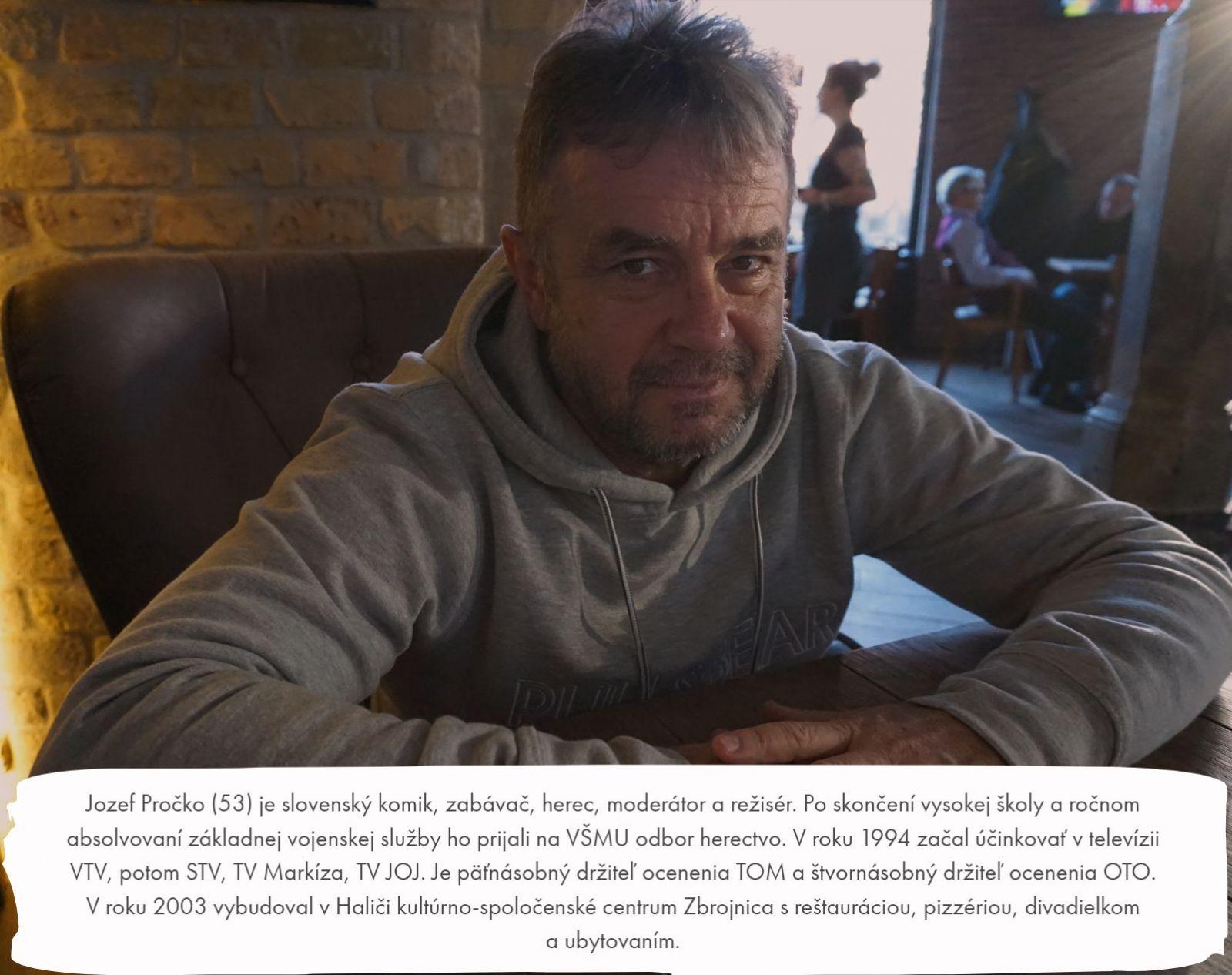 Jožo Pročko: Začnem ľudí zas nachytávať. Ak by som napálil Fica, vybuchol by internet (Rozhovor)