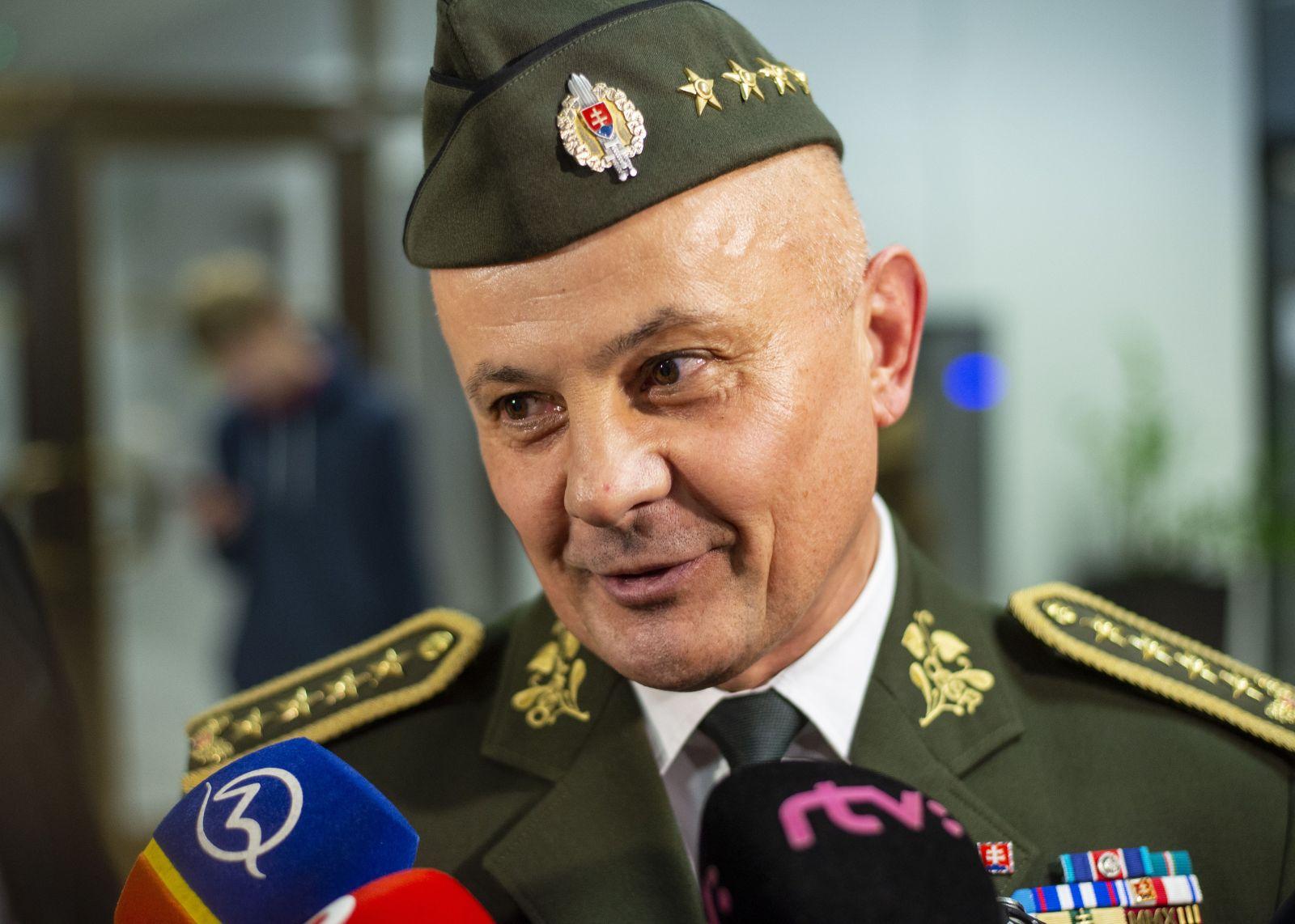 Na snímke riaditeľ Vojenského spravodajstva ministerstva obrany (MO) SR gen. Ján Balciar
