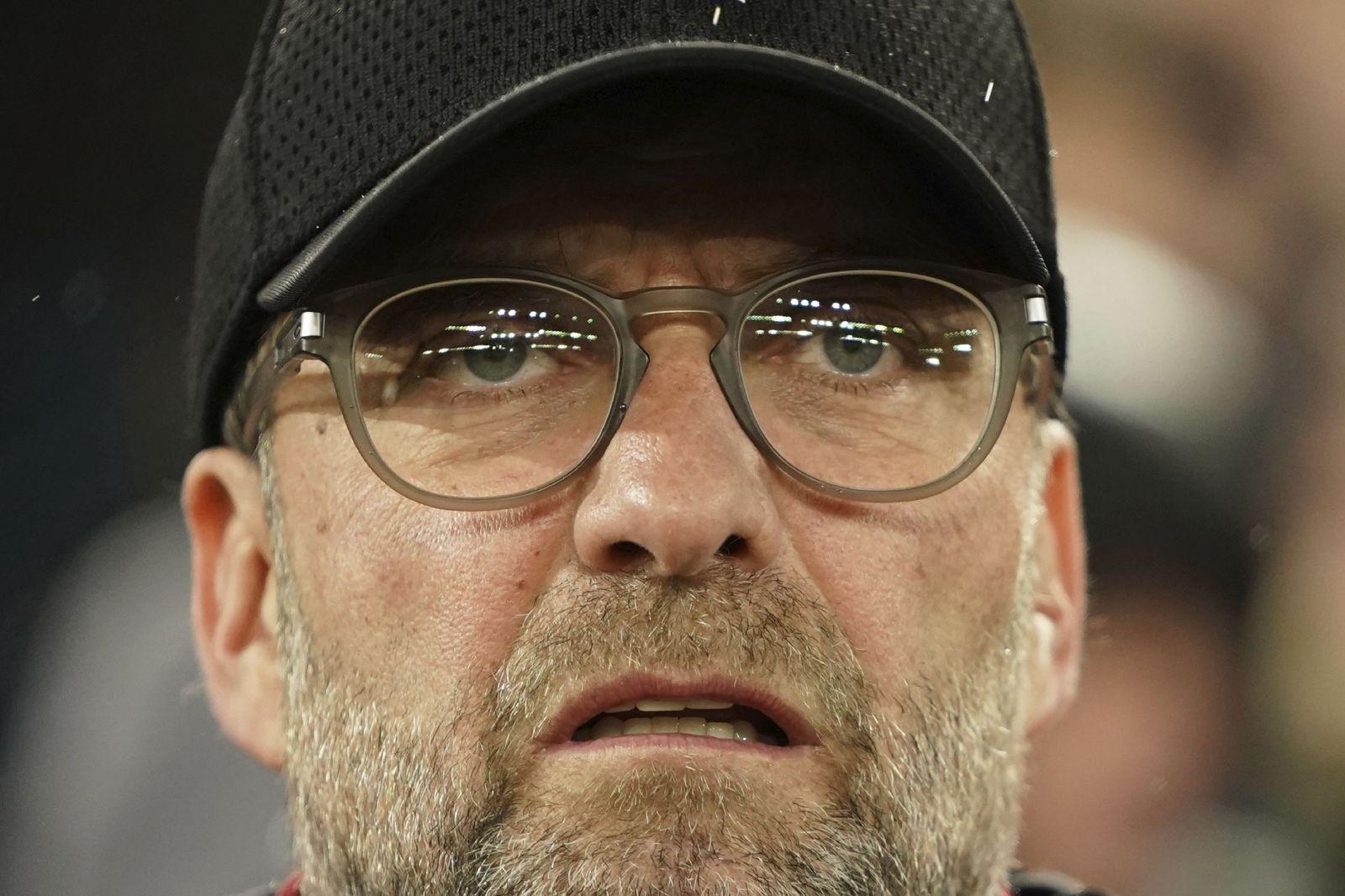 Tréner Liverpoolu Jürgen Klopp.