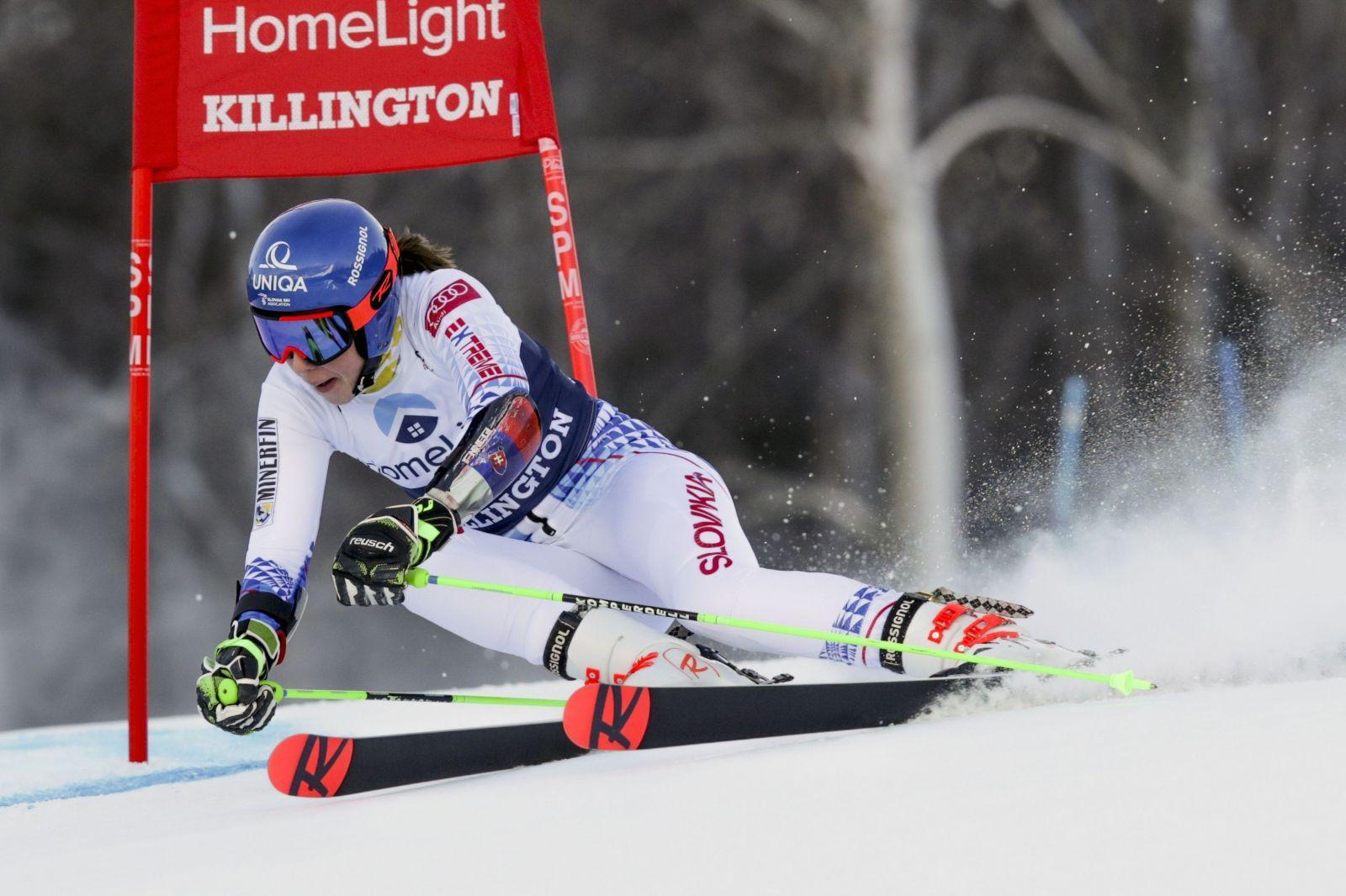 Peťa Vlhová zvládla druhé kolo a vyhrala obrovský slalom!