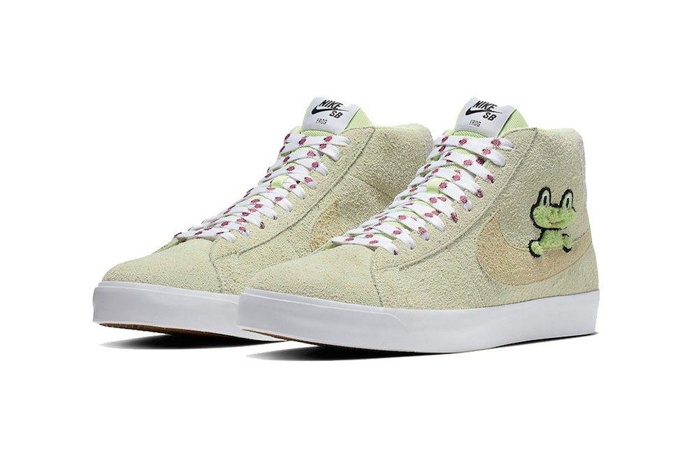 bb96fc4dbf68 Tenisky Nike SB Blazer v spolupráci s Frog Skateboards sú ...