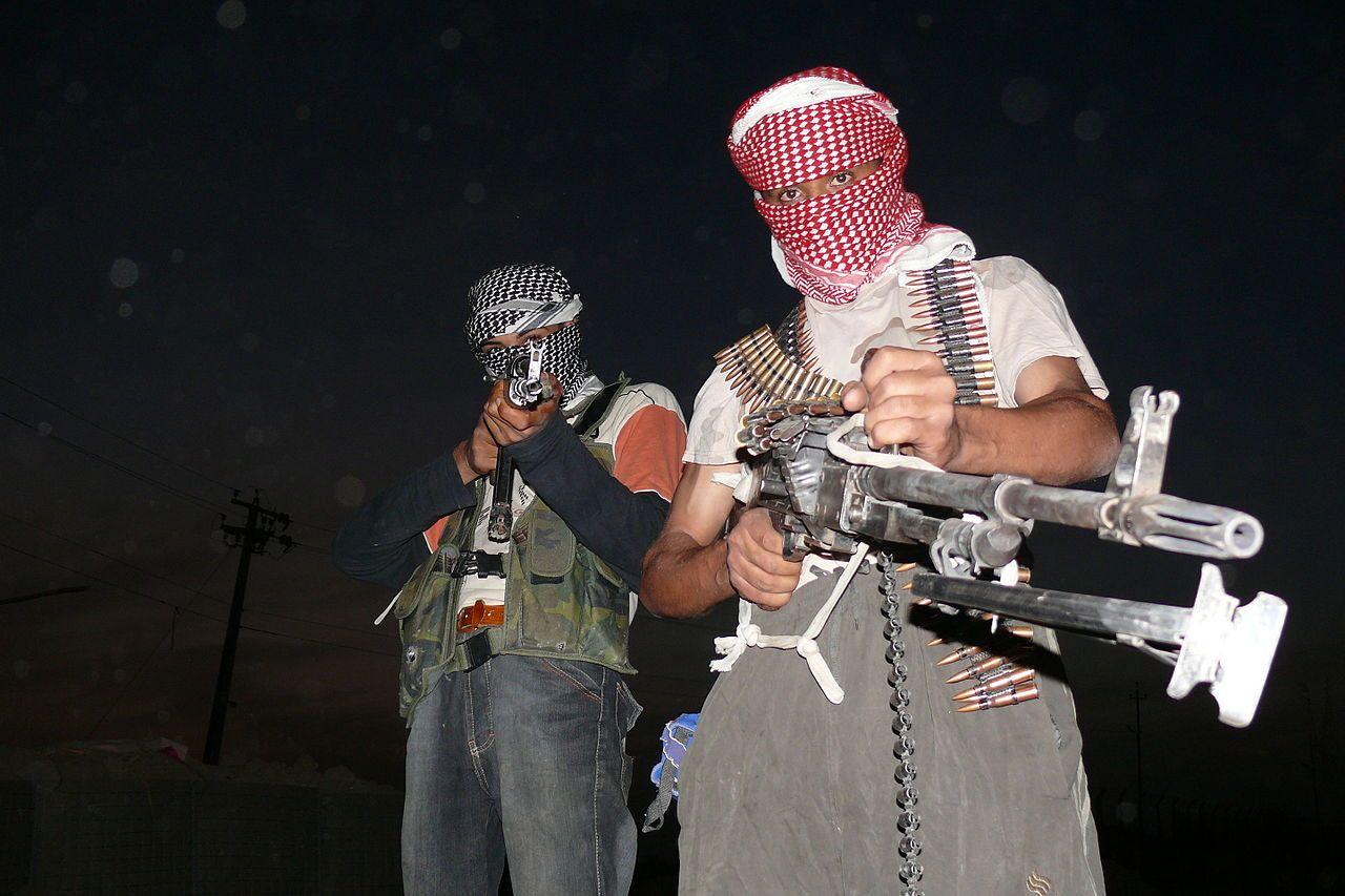 Islámští vzbouřenci v roce 2006