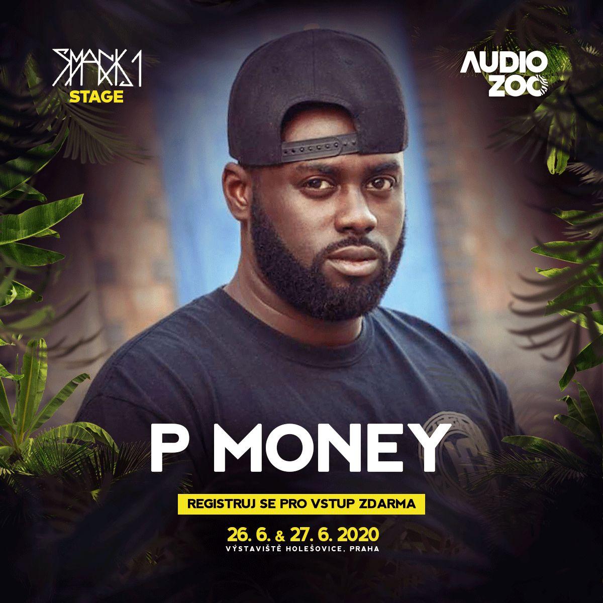 P Money na fesťáku v Praze a zadarmo? Zaregistruj se a na Audio Zoo 2020 a uvidíš i Smacka