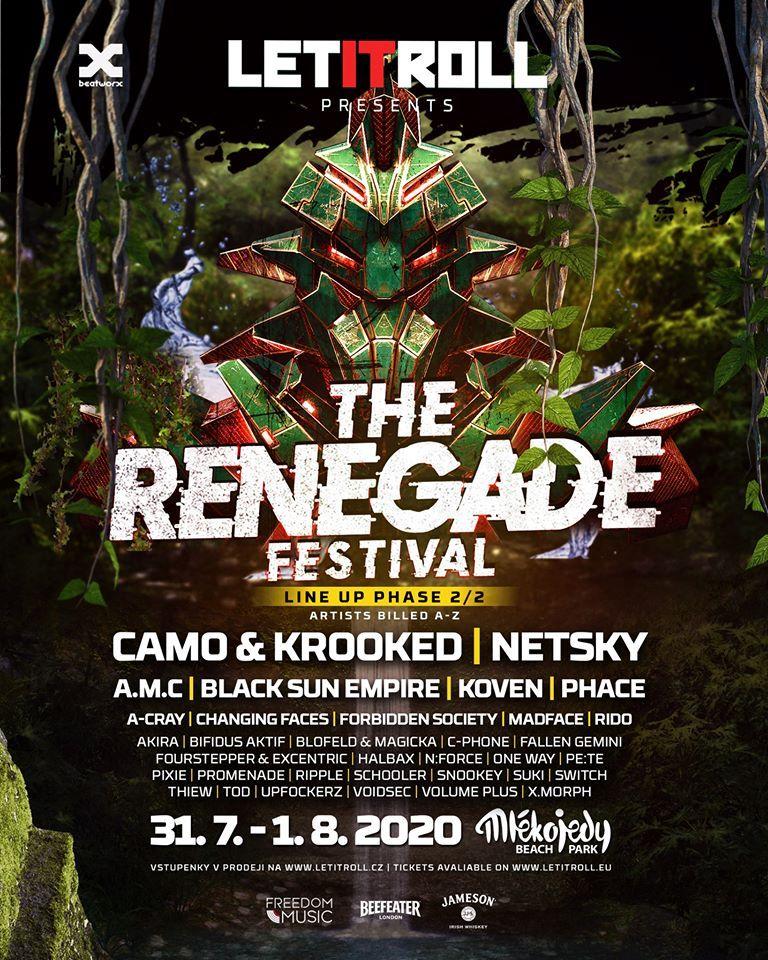 Zmenšený Let It Roll, vyprodaný festival The Renegade, slavil úspěch! Podívej se na fotky z letošní koronou osekané akce