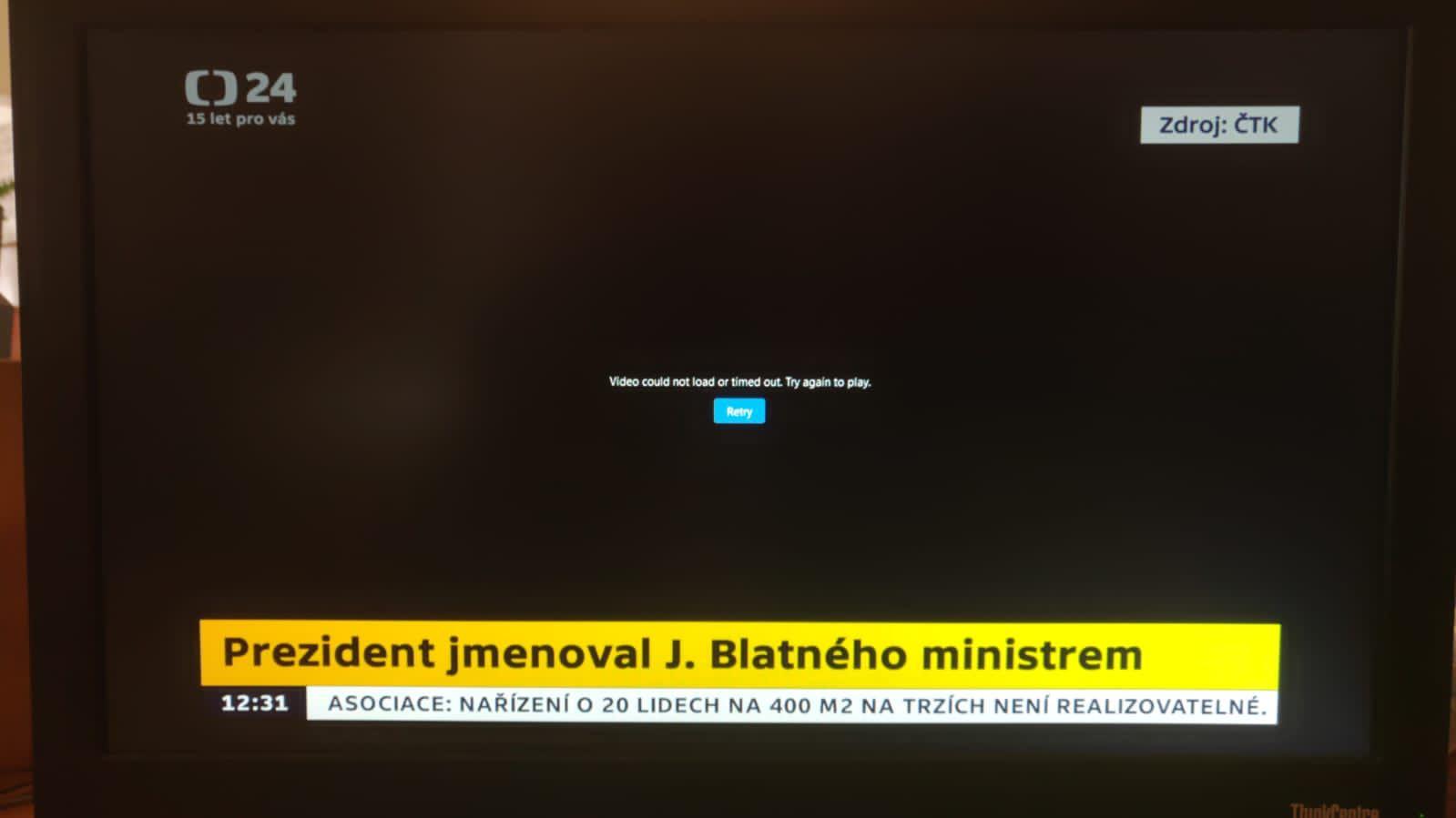 Mynář napsal České televizi: Jste neprofesionální, vypadl vám signál při jmenování Blatného. Dvořák: ČT jste na hrad nepustili